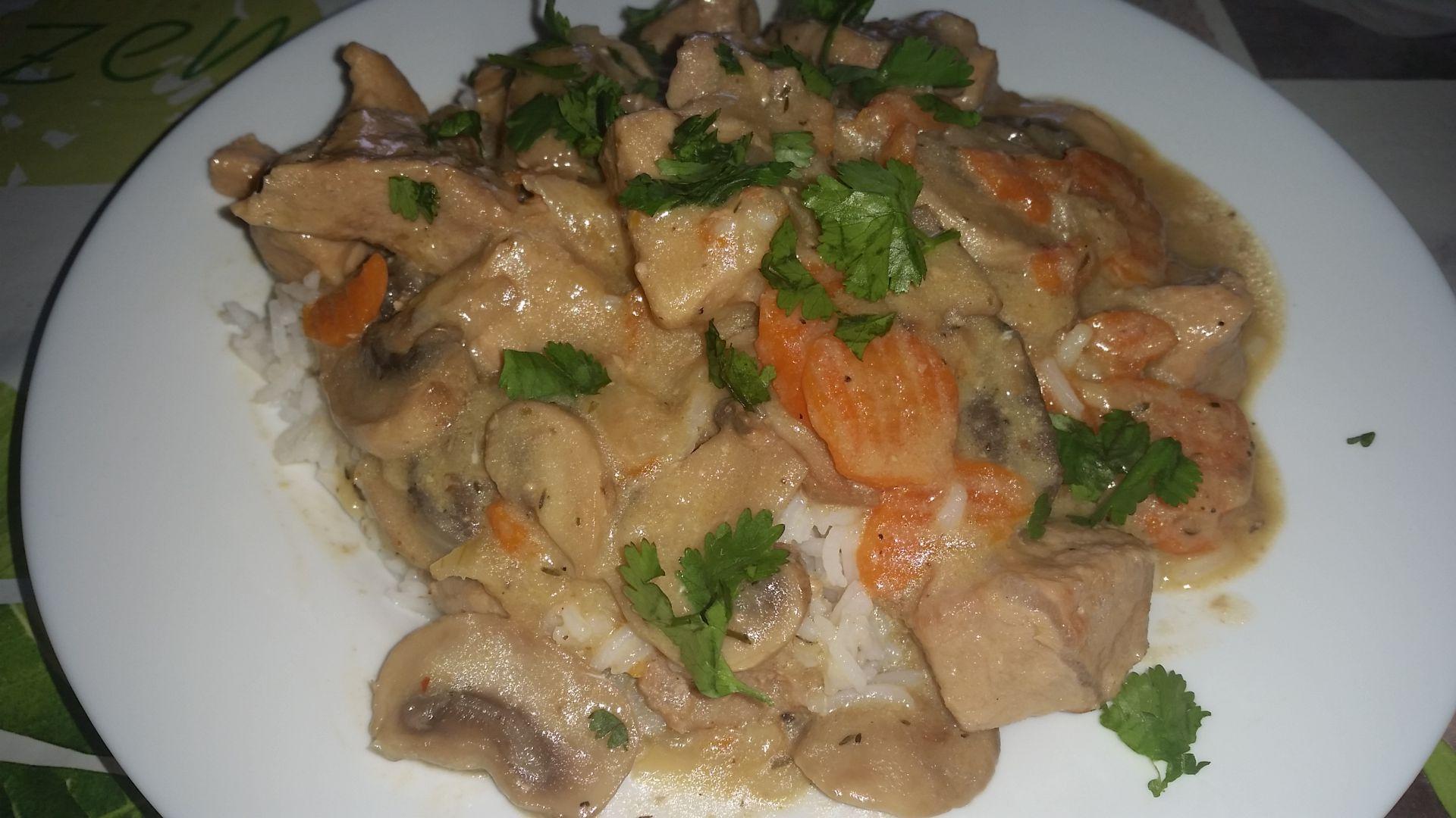 Recette blanquette de veau sur mimi blog de cuisine de mimi - Cuisine blanquette de veau ...