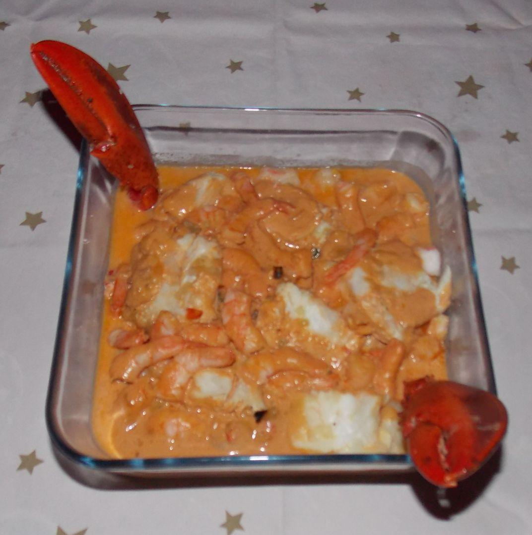 recette cassolette de fruits de mer sur mamy86 blog de cuisine de mamy86. Black Bedroom Furniture Sets. Home Design Ideas