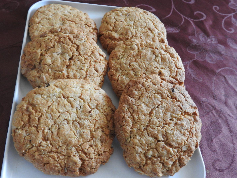 Recette Cookie Flocon D Avoine Et Poudre D Amande Sur Les Delices De