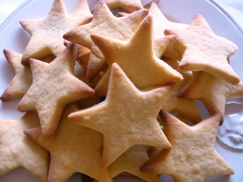 fe5fc4568468 Recette Petit sablé étoile sur La cuisine de Cécile - Blog de ...