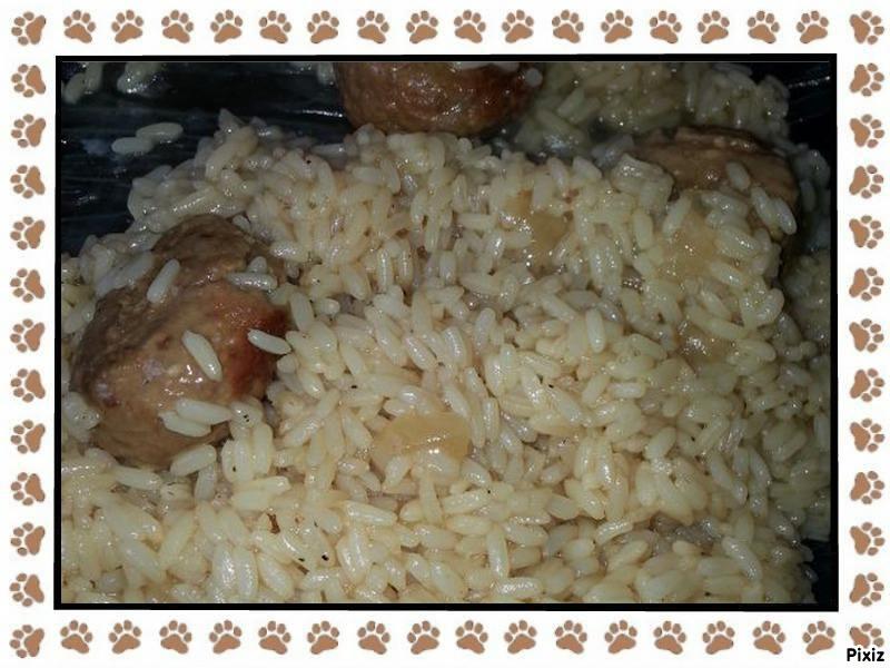 recette boulettes de viande au riz cookeo sur la cuisine de stef blog de cuisine de calimero stef. Black Bedroom Furniture Sets. Home Design Ideas
