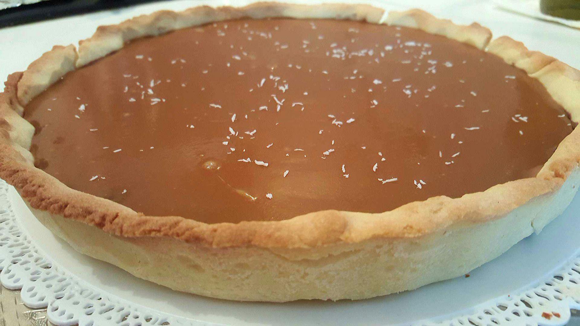 Recette Tarte Chocolat Caramel Beurre Sale Sur Sana Cocina Blog De