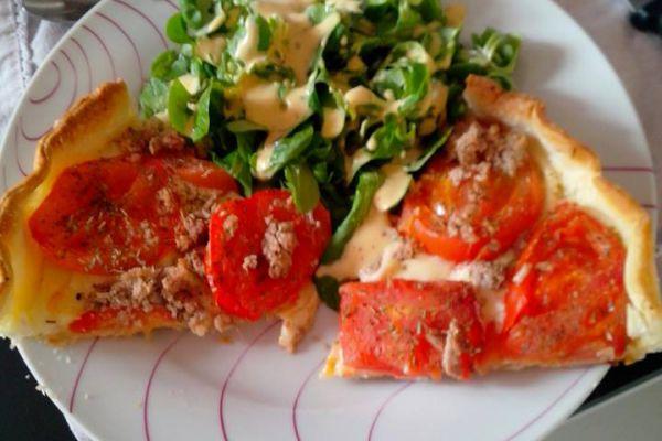 Recette Tarte à la tomate thon et leerdammer