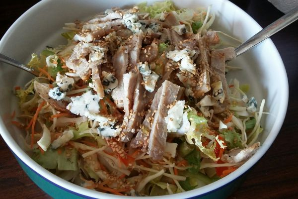 Recette Salade au roquefort