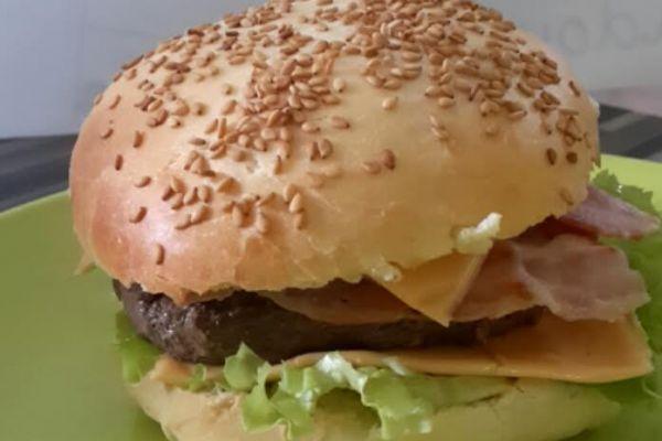 Recette Hamburger bacon