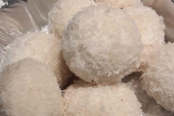 Recette Boules de coco comme au resto