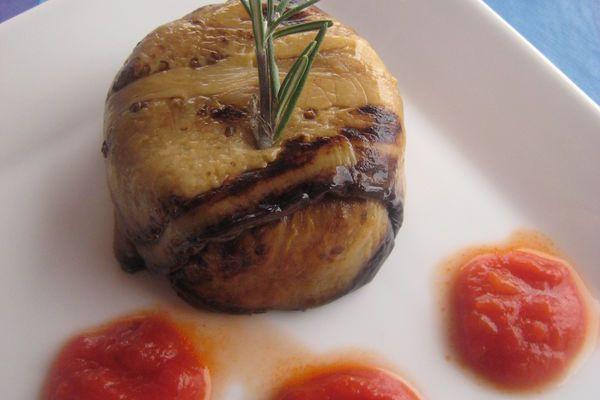 Recette papeton d'aubergine