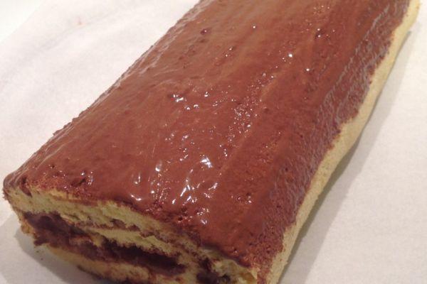 NOEL - Buche roulée chocolat/orange - 5pp