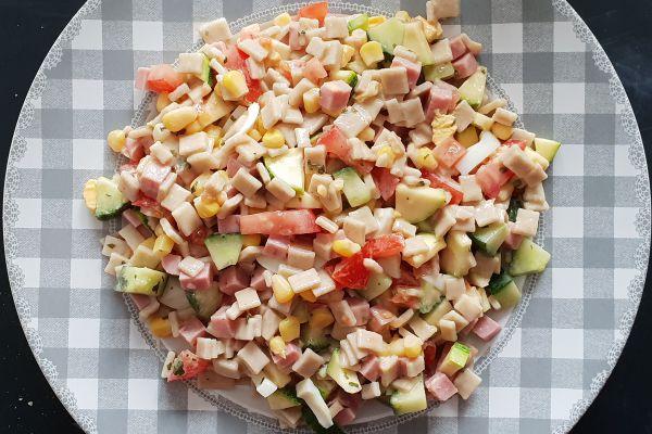 Recette Salade composée de crozets (sarrasin)