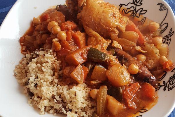 Recette COOKEO - couscous royal