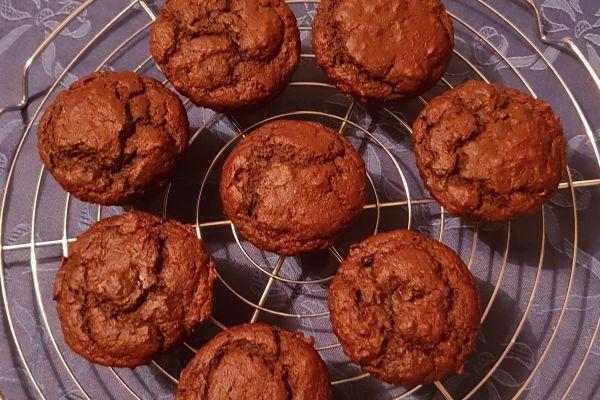 Gateau chococourgette - 3 pp la part (ou le muffin)