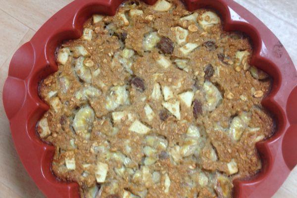 Recette Cake fruité aux flocons d'avoine - 2 pp (2 SP)