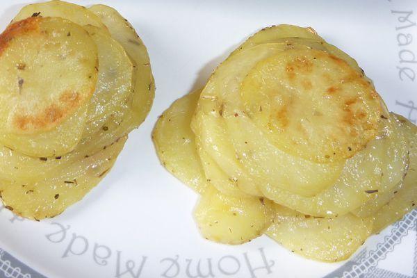 Recette Mille-feuilles de pommes de terre - 3 pp (3 SP)