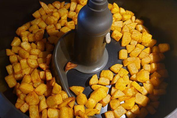 Patates rôties à l'actifry - 4 pp