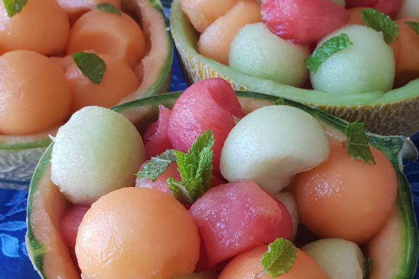 Recette Salade de fruits rafraîchissante