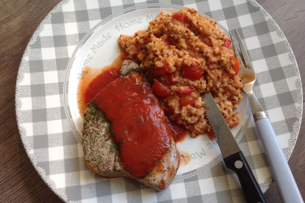 Longe de thon et graines à la tomate - 10 pp