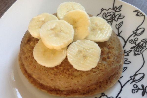 Recette Bowl cake banane/spéculoos - 5 pp