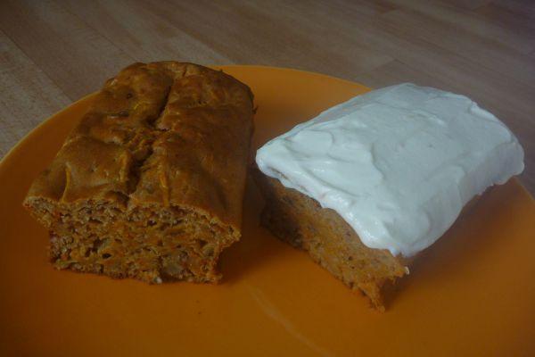 Carrot cake sucré - 3 pp