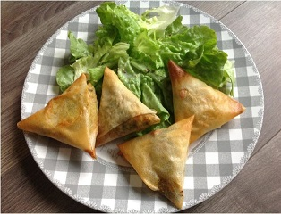 Samossas boeuf/légumes - 4 pour 6 pp