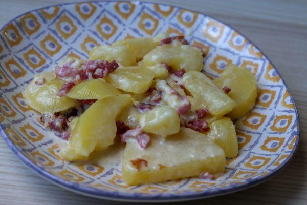 Recette Pommes de terre savoyardes COOKEO