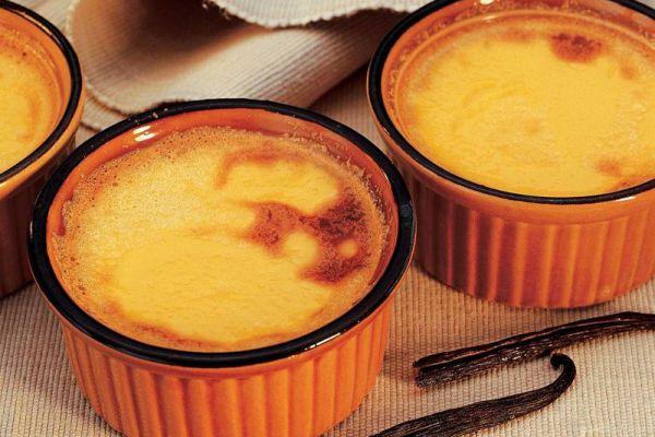 Recette Crème aux œufs cuite au four