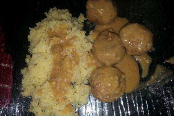 Recette Boulettes de boeuf à la moutarde COOKEO