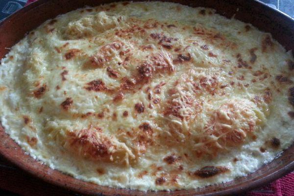 Recette Pommes de terre gratinées à la crème