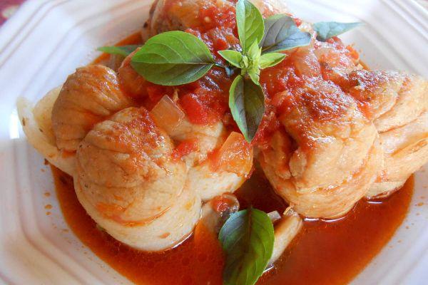 Paupiettes de porc à la tomate COOKEO