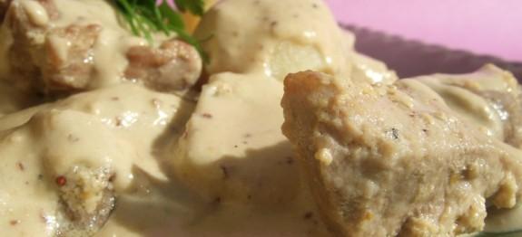 Recette Sauté de veau au roquefort COOKEO