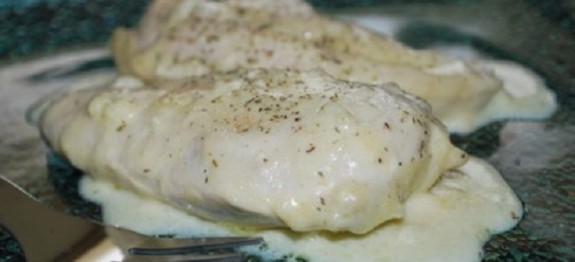 Recette Escalopes de poulet à la cancoillotte COOKEO