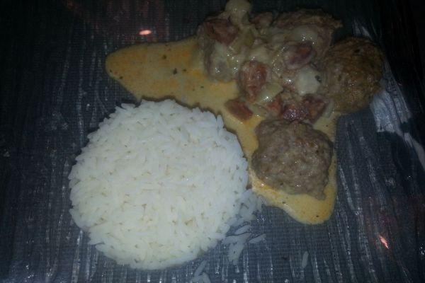 Boulette de viande au chorizo COOKEO