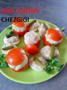 Recette Tomates farcies et oeufs farcis