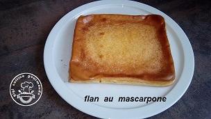 FLAN AU MASCARPONE