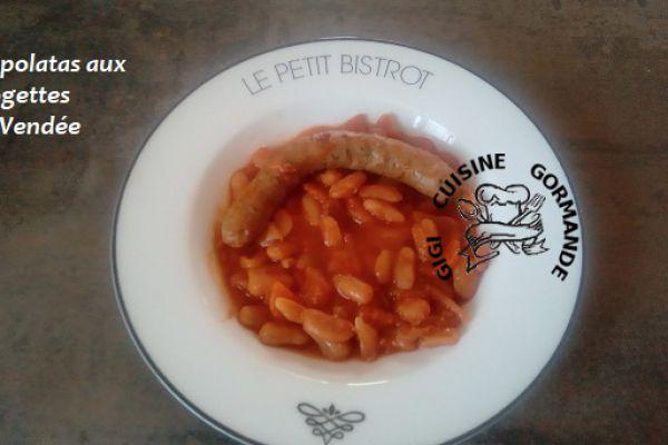Recette CHIPOLATAS aux MOGETTES de VENDEE (cookéo)