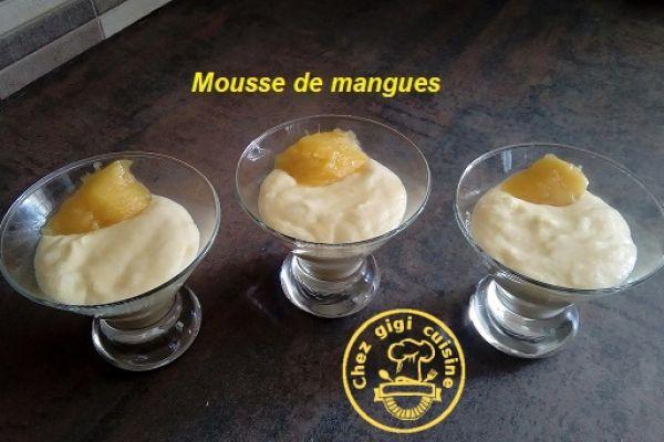 Recette Mousse a la mangue