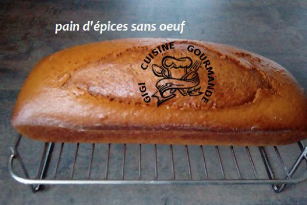 Recette PAIN D'EPICES sans oeuf