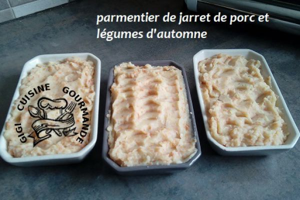 PARMENTIER de JARRET DE PORC (cookéo)