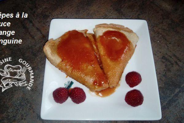 Recette crêpes sauce aux oranges sanguines