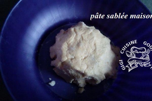 Recette PATE SABLEE maison sans sucre au THERMOMIX