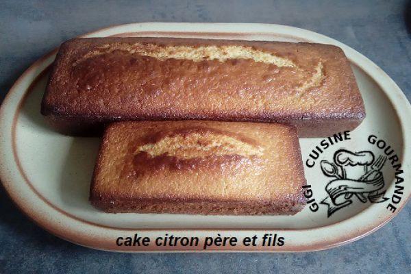 Recette cake au citron au thermomix