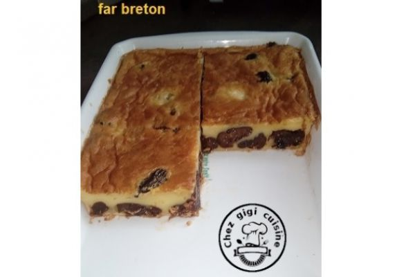 Recette Far breton aux pruneaux