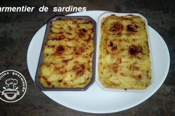 Recette Parmentier de sardines