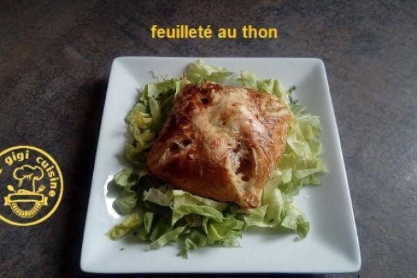 Recette Feuillete au thon