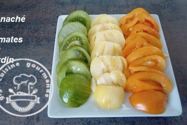 Recette Tomates du jardin