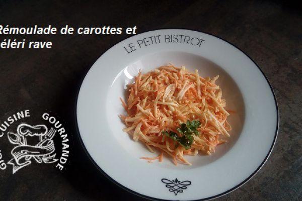 Rémoulade de carottes et céléri rave