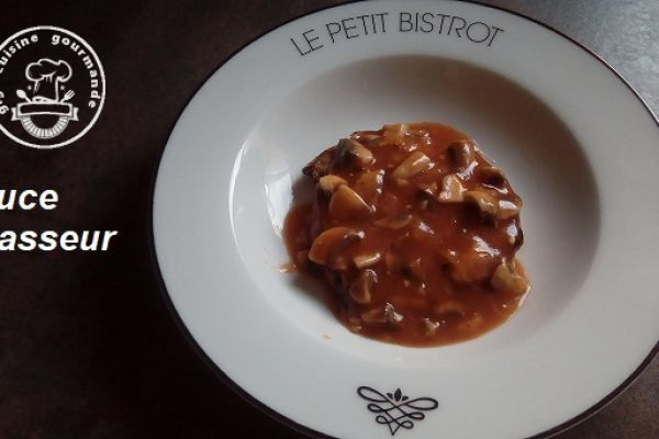 Recette SAUCE CHASSEUR THERMOMIX