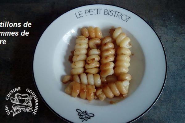 Recette tortillons de pommes de terre au cookéo
