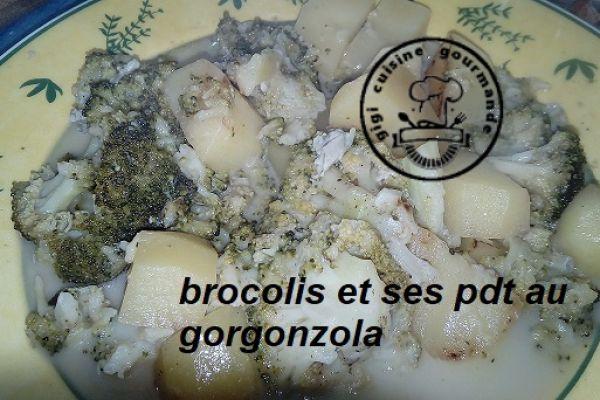 BROCOLIS, PDT au gorgonzola au cookéo