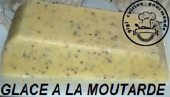 Recette Glace a la moutarde au thermomix
