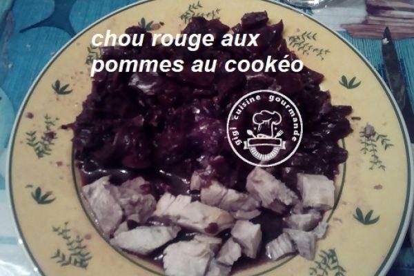Recette CHOU ROUGE aux POMMES au cookéo